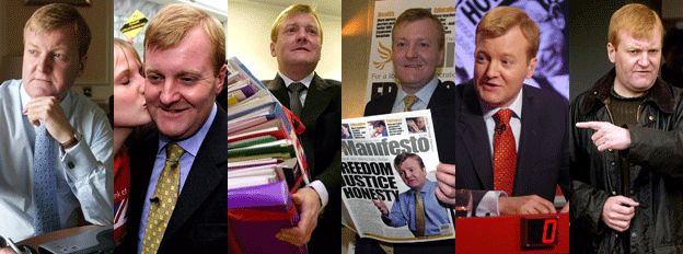 Images from Charles Kennedy during his political career