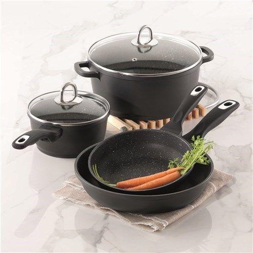 Baccarat Granite Cookware Set 4 Piece