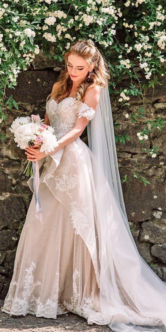 30 Vintage Wedding Dresses Make Wedding Unique – #…