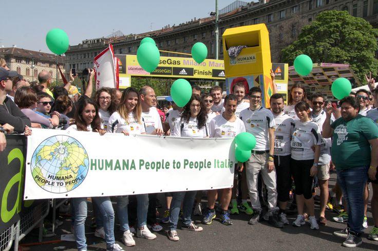 I nostri #Corsari all'arrivo!   #milanomarathon #staffettaMi #running #milan #run #runners #marathon