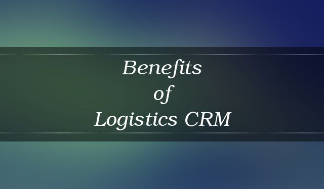 Checkout this list on benefits of using a CRM software for your Logistics business!  http://blog.dquip.com/logistics-crm-benefits/  #Logistics #CRM #Software #Business