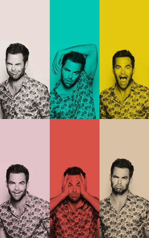 Chris Pine…if you could quit being so handsome, charming, adorable, and cute…oh who am I kidding. That's not possible.