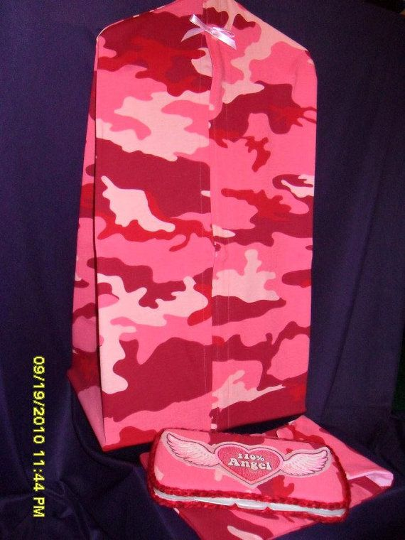 Pink Camo Diaper stacker pouch and wipes by AngelFaceOriginals, $39.99