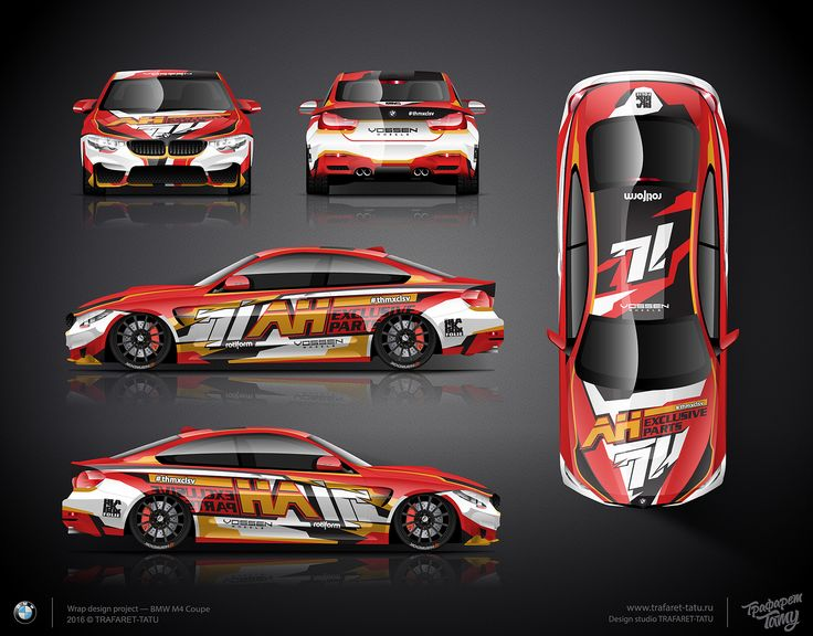 The Approved Wrap Design For Bmw M4 Coupe Car Wrap