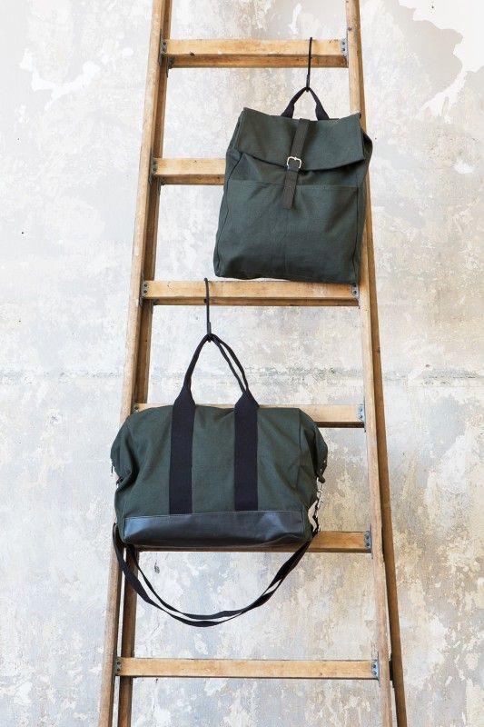 Bag Mörkgrön/Svart