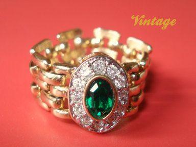 VTG ANELLO ORO firmato di Nina Vintage su DaWanda.com