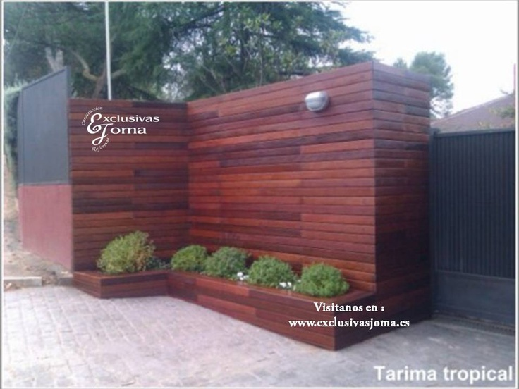 Otra de las instalaciones realizadas en la moraleja - Revestimiento de pared exterior ...