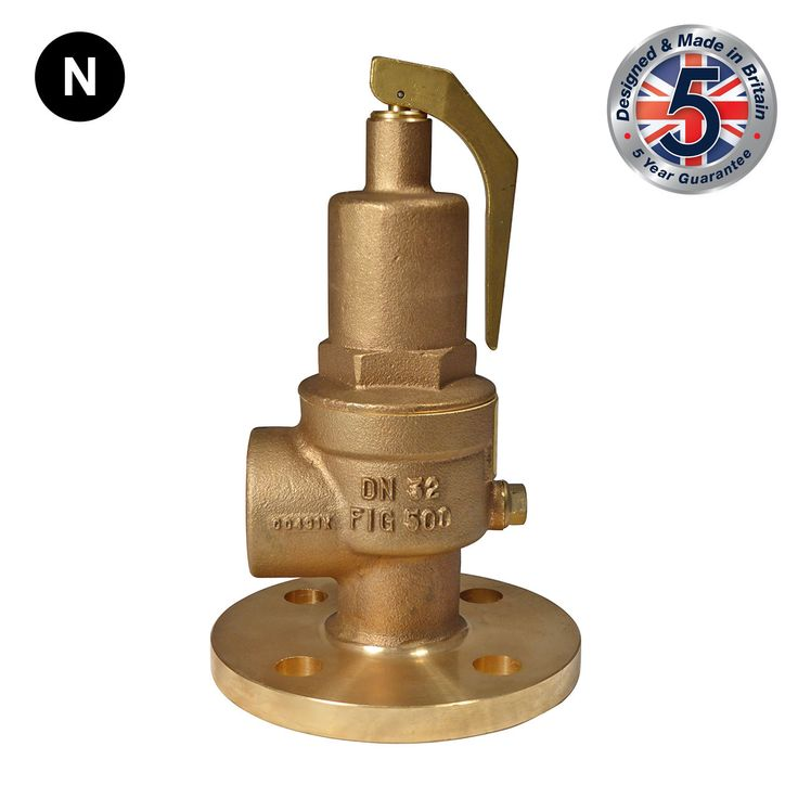 Nabic Fig 500F Flanged High Lift Safety Valve