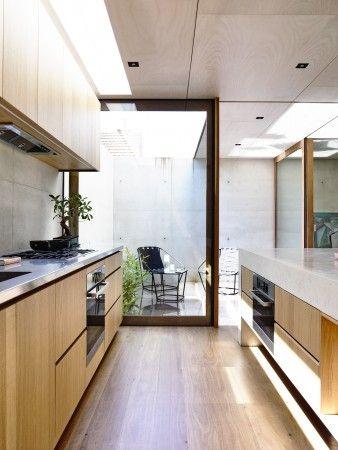 Courtyard off the kitchen