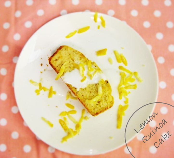 Lemon Quinoa Cake Recipe- Finally a cake that is good for you! http://handpickedvegan.com/2014/08/04/lemon-quinoa-cake/ vegan, quinoa, dessert, dairy-free, easy