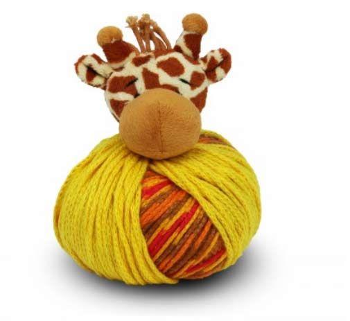 DMC Top This - włóczka na czapkę z żyrafą