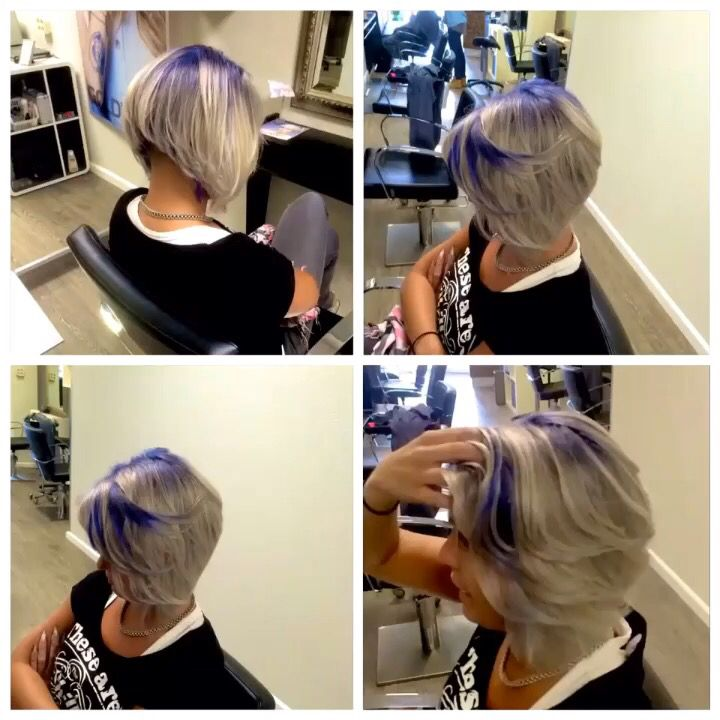 Purple grey! Dare to be different And dare to be you. Don't hide, just shine.