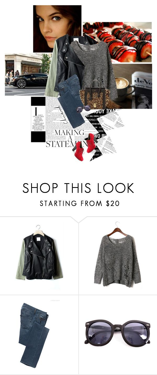 """""""Barbara Palvin"""" by iluvatar ❤ liked on Polyvore featuring Ultimate, C'N'C, DANNIJO, CÉLINE, Chicwish, Esska, barbara, chicwish, palvin and barbara palvin"""