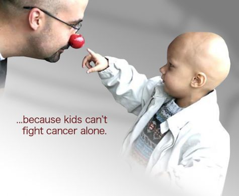 Because Kids cant fight cancer alone...that's why I am going to be a Peds nurse when I am done with nursing school.