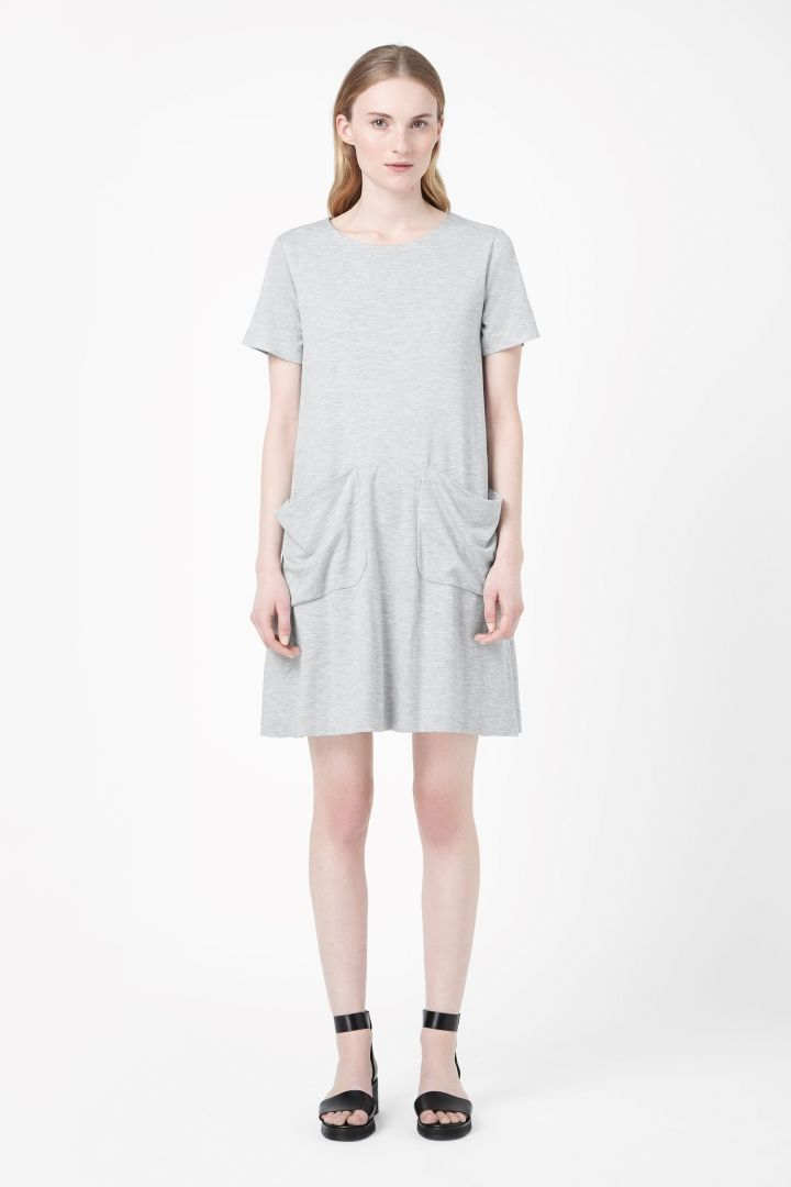 COS | Jersey dress with pockets