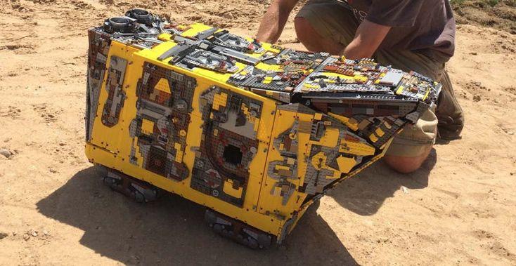 Behold This Massive 10,000-brick Lego Technic Star Wars 'Sandcrawler'
