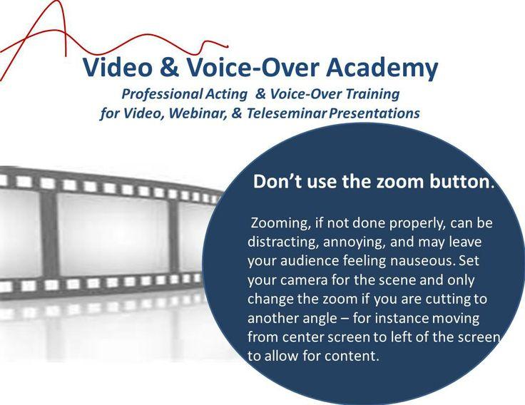 Video Tip -- Zoom