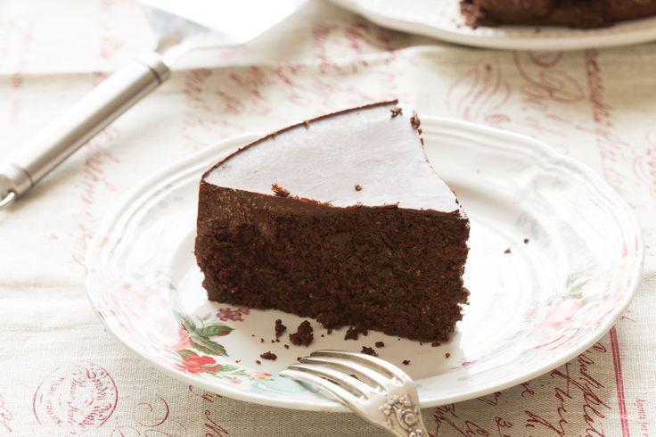Gâteau moelleux tout chocolat sans gluten