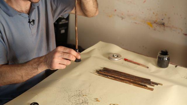 Ebru yapımında kullanılan fırçalar nasıl olmalıdır