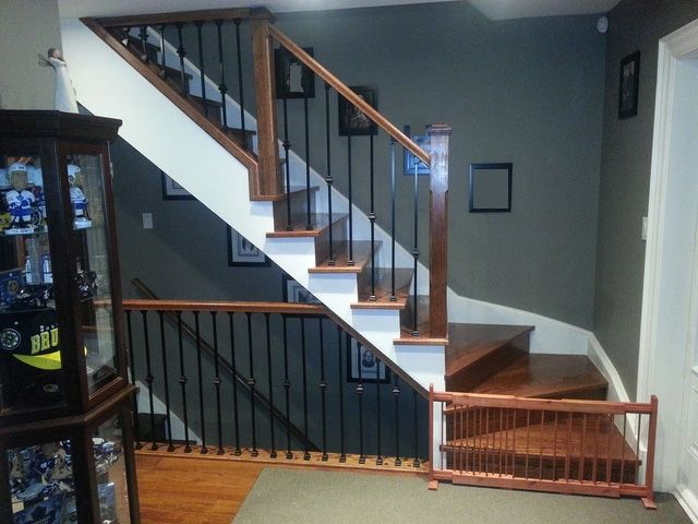 Best Refacing Winder Stair Capping New Railing With Metal 400 x 300