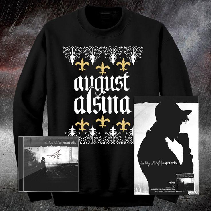 Holiday Autographed Deluxe Bundle – August Alsina Shop