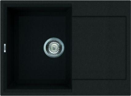 Reginox Parma 135 Regi-graniet spoelbak ghisa zwart L3406-70