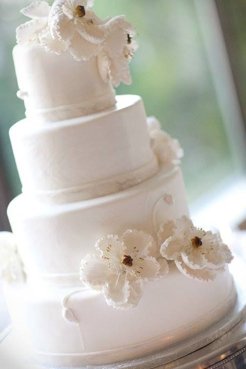 White Wedding Cake Chef Alison Friedman Liberty Baking Co Fairfax Va Http