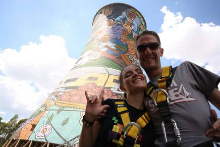 Orlando Towers - bungee!
