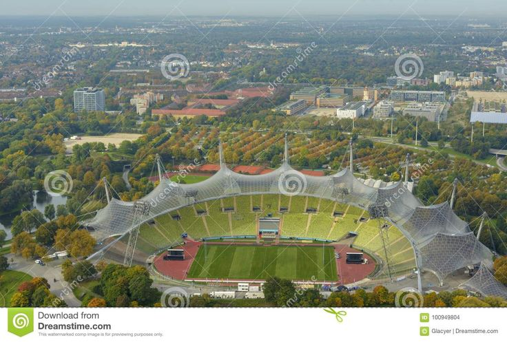 Munich Olympic Stadium Editorial Stock Image - Image: 100949804