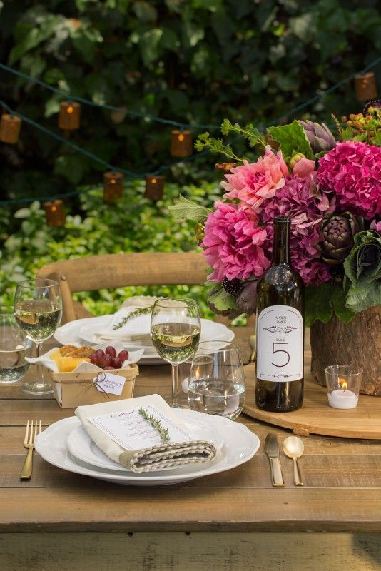 A beautiful rustic DIY wedding tablescape that I'm pinning for a chance to win a share of $7,500 in cash, plus Avery Products in the Avery 2015 Wedding Sweepstakes! Avery is giving away three monthly prizes of $1,000 plus a grand prize of $4,500. Contest runs 4/1/15 through 6/30/15. Rules here: avery.com/weddings. [Promotional Pin]