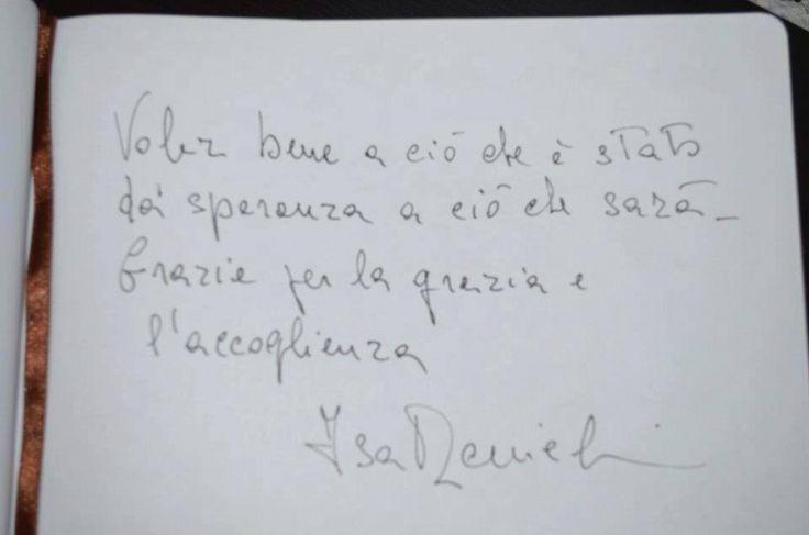Dedica di Isa Danieli, 2012