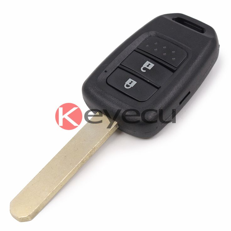 New Remote Key Fob 2 Button 434Mhz ID47 CHIP for Honda