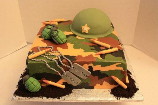 camouflage cake - Google zoeken                                                                                                                                                     More