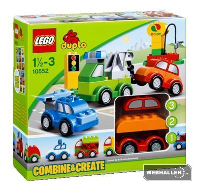 LEGO® DUPLO® Fantasibilar innehåller över 40 färgglada DUPLO klossar med fordonstema att bygga coola bilar av! Med det speciella kombinationskonceptet kan ditt barn skapa fordon i alla former och storlekar genom att kombinera ett fåtal färgglada klossar. Det här fantastiska setet innehåller tre vagnunderdelar, ett dekorerat fönster, klossar med trafik- och bensinstationssymboler, en slang, en moto