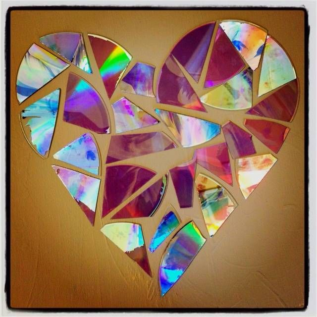 7) Wall Decor 12 Ways To Recycle Your Old CDs And DVDs Into Amazing Crafts
