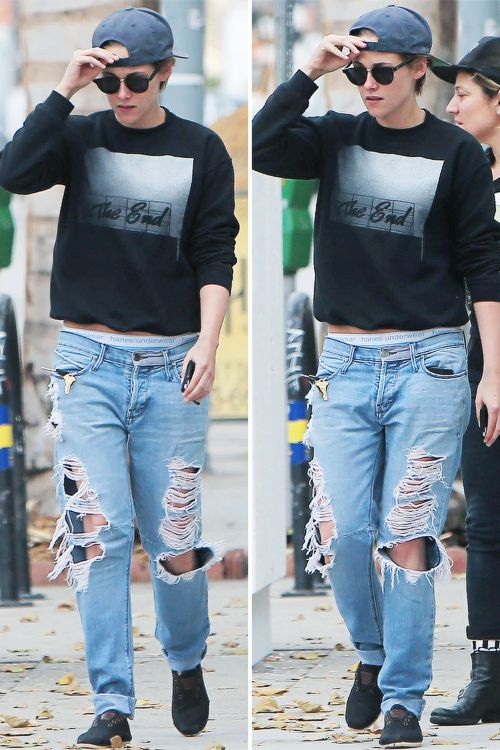 krissteewartss:  Kristen out in L.A November 12, 2014