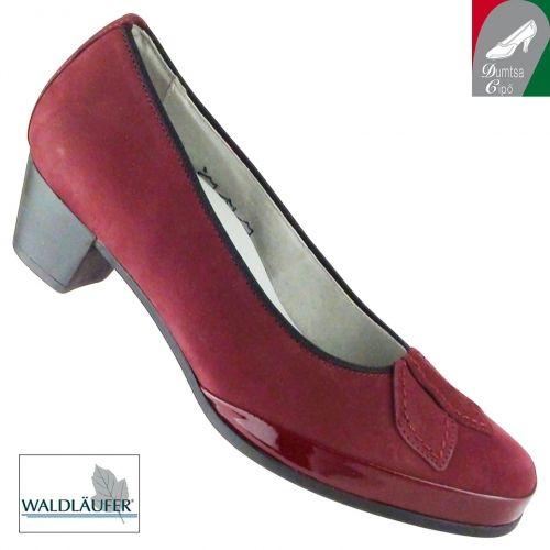 Waldlaufer  női bőr cipő 590518689 203 bordó
