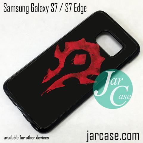 Warcraft Logo (1) Phone Case for Samsung Galaxy S7 & S7 Edge