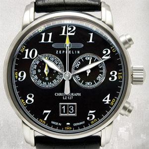 *Montre chronographe Zeppelin