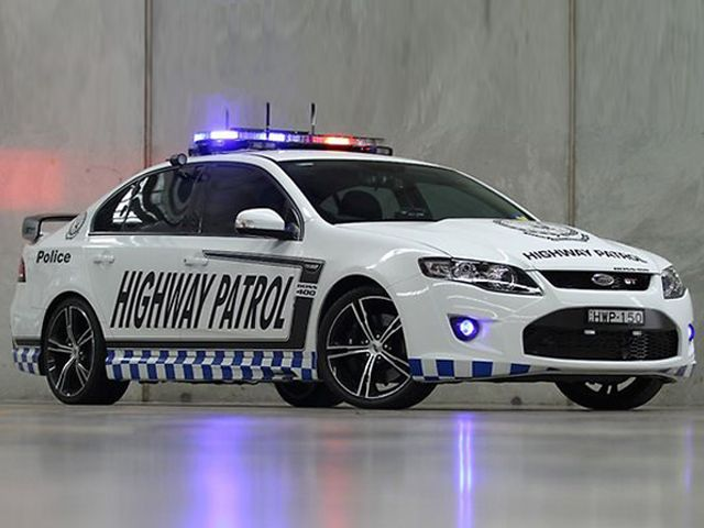 Ford Falcon Upgraded for Aussie Police Duty