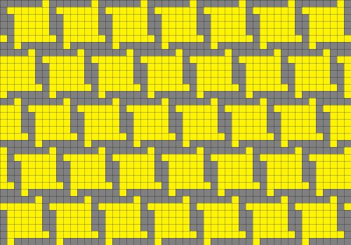 Houndstooth chart