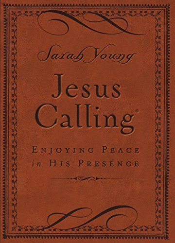 Jesus Calling - Deluxe Edition Brown Cov - Jesus Calling - Deluxe Edition Brown Cover: Enjoying Peace in His Presence by Sarah Young  718042824[/ca...  #Religion&Spirituality #SarahYoung