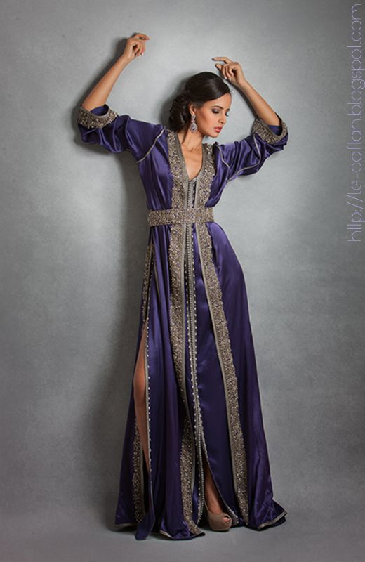 robe caftan de soir e prestigieuse look pinterest caftans recherche et caftan marocain. Black Bedroom Furniture Sets. Home Design Ideas