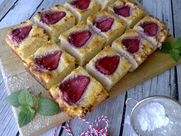 Kefires epres diétás süti liszt nélkül, vacsorára is!   Salátagyár