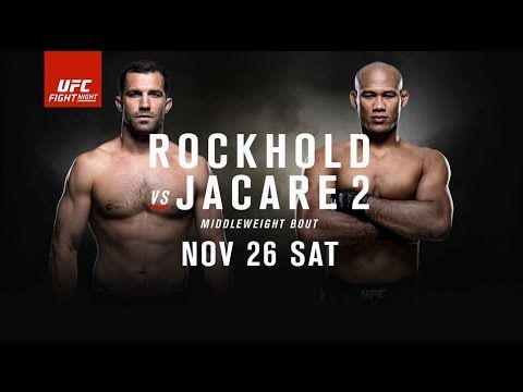 awesome Preview for UFC Fight Night: Rockhold vs Jacare 2