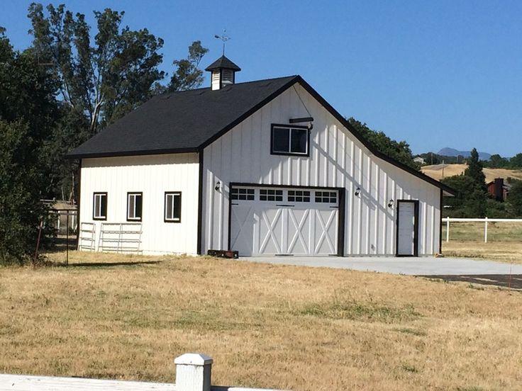 Best 25 White Barn Ideas On Pinterest Barn Garage Farm