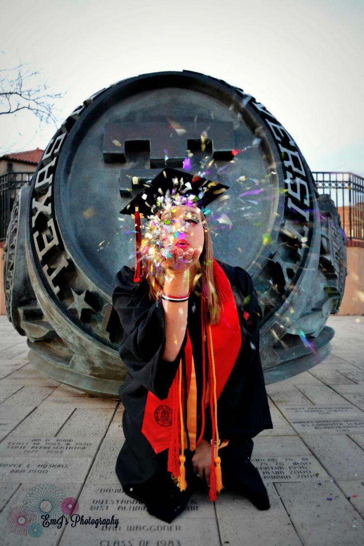 Photo by Em J's Photography. https://www.facebook.com/pages/Em-Js-Photography/193867710662878 Graduation photography. Texas Tech.