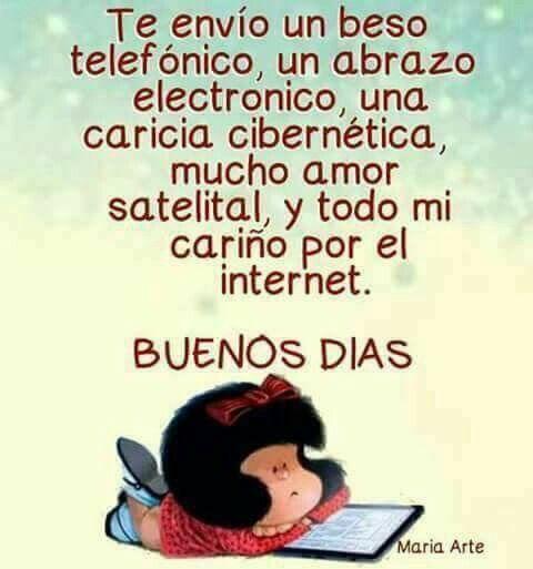 La simpatía de Mafalda.