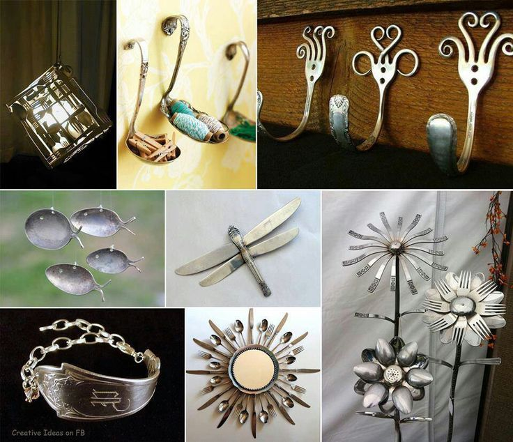 kitchen utensil arts and craft | Utensil art