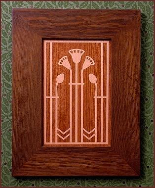 Charles Limbert Oak Leaf Pattern Furniture